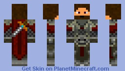 Warrior Minecraft Skin