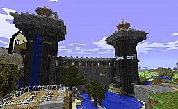 Norman Castle Minecraft Map & Project