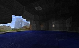 Hot Spring Pool inside a Hill Minecraft Project