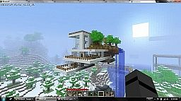 Modern Art in the Sky Minecraft Map & Project