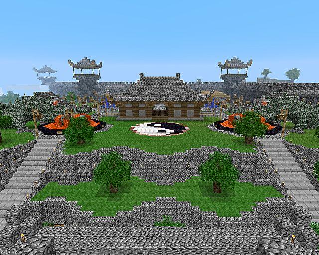 Tsuchi Iwa Castle (Earth Rock Castle) Minecraft Project