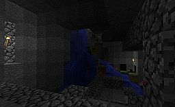 Controlled Underground Waterfall Minecraft Project