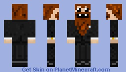 Caveman in suit Minecraft Skin