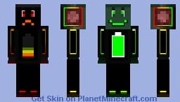 High Low Minecraft Skin