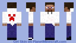 Hoodie Steve Minecraft Skin
