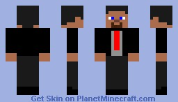 Businessman Steve Minecraft Skin