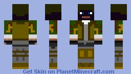 Battlefield 3 Russian Support Minecraft Skin