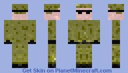 US Soldier (3D) Minecraft Skin
