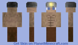 Miner [New shading/skinning technique] Minecraft Skin