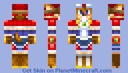 Red Savarin Minecraft Skin