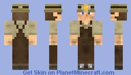 Ruffed Up Miner - Original - DIAMOND! Minecraft Skin