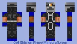 Miner with a gasmask Minecraft Skin