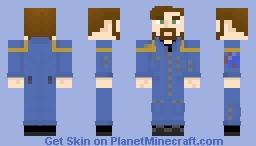 Starfleet Command Uniform (2140s-2160s) Minecraft Skin