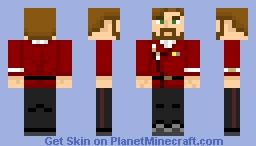 Starfleet Command Uniform (Late 2270s-2350s) Minecraft Skin