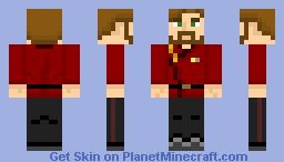 Starfleet Command Uniform (2300s Concept) Minecraft Skin