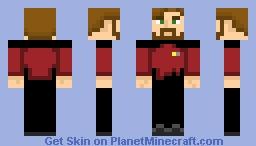 Starfleet Command Uniform (2350s-2370s) Minecraft Skin