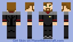 Starfleet Command Uniform (2370s) Minecraft Skin