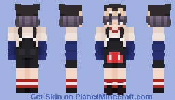 It's the Mickey Mouse clubhouse Minecraft Skin