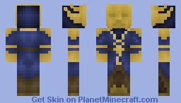 Miraak (Skyrim: Dragonborn DLC) Minecraft Skin
