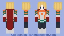 ~Mirio Hero~ Minecraft Skin