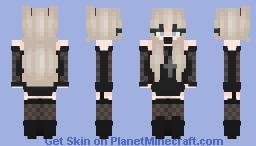 𝓜𝓲𝓼𝓪 - 𝓓𝓮𝓪𝓽𝓱 𝓝𝓸𝓽𝓮 Minecraft Skin