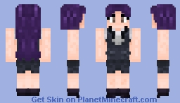 Major -Misato Katsuragi- (NGE) [Without Jacket] Minecraft Skin