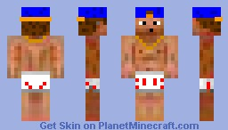 nude swag assasin44 Minecraft Skin
