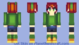 Mitsuba Hagihara [Brave Danganronpa: Coward's Paradise] Minecraft Skin