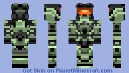 Halo Infinite: Mark VII concept (Multiplayer spartan) Minecraft Skin