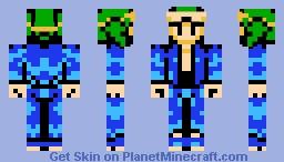 The Hunter (Metal Max FC) Minecraft Skin