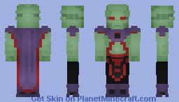 Martian Manhunter - New52 - Minecraft Skin