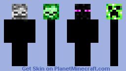 Mobs Minecraft Skin