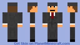 Mobster Minecraft Skin