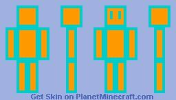 Neon Minecraft Skin