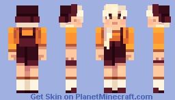 Modern Witch Minecraft Skin