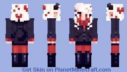 Helltaker- Modeus Minecraft Skin