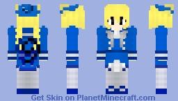 Moge-ko: Wadanohara Cosplay Minecraft Skin