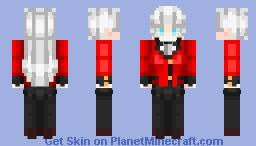 𝐌𝐨𝐦𝐨𝐛𝐚𝐦𝐢 𝐑𝐢𝐫𝐢𝐤𝐚 (桃喰りりか) Without Mask ver. - Kakegurui (賭ケグルイ) Minecraft Skin