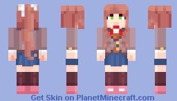 [DDLC Plus] Monika Minecraft Skin