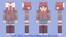 monika ~ Minecraft Skin