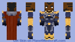 The Monitor (Crisis) Minecraft Skin
