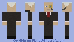 Monocule Guy w/ Suit Minecraft Skin