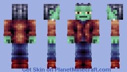{Skintober Day 21: Monster} Frankenstein's Monster Minecraft Skin