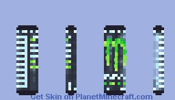 Monster Energy(TM) brought to you by Hideo(TM) Kojima(TM) Minecraft Skin