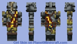 The Huntsman ( Monster Hunter: World ) Minecraft Skin