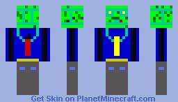 MonsterCool Minecraft Skin