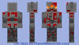 Redstone Monstrosity - Minecraft Dungeons Minecraft Skin