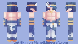 // The Moon King . SGT // Minecraft Skin