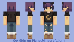 moonchild ☾ Minecraft Skin