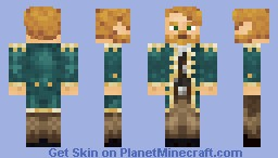 A Captain Skin Minecraft Skin